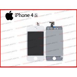 PANTALLA (Tactil+LCD) IPHONE 4S (Grade A+) BLANCA