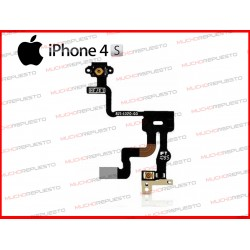 CABLE FLEX BOTON POWER +SENSOR PROXIMIDAD IPHONE4S