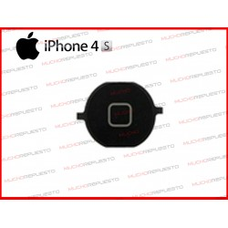 BOTON HOME DE REPUESTO IPHONE 4S NEGRO
