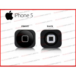 BOTON HOME DE REPUESTO IPHONE 5 NEGRO
