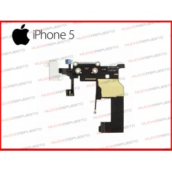 CONECTOR DE CARGA/DATOS+AUDIO IPHONE 5 BLANCO