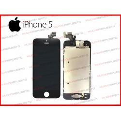 PANTALLA (Tactil+LCD) IPHONE 5 (Grade A+) NEGRA