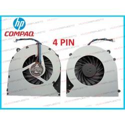 VENTILADOR HP DV4-4000 / DV4-4xxx Series (4PIN)
