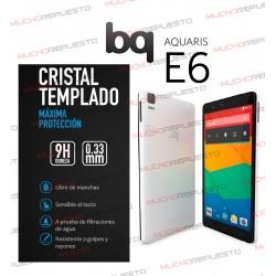 PROTECTOR CRISTAL TEMPLADO BQ AQUARIS E6
