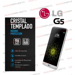 PROTECTOR CRISTAL TEMPLADO LG Optimus G5
