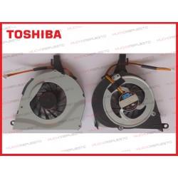 VENTILADOR TOSHIBA L650/L650D/L655/L655D/L750/L750D/L755/L755D (Modelo 1)