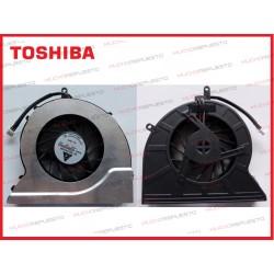 VENTILADOR TOSHIBA L300/L310/M300/M305/M800/P305/U400/U405