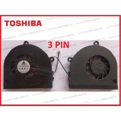 VENTILADOR TOSHIBA A660/A665/A655D/C650/C655/C660/C665/L670/L675/P750