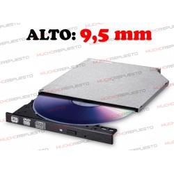 GRABADORA DVD+/-RW SATA LG GUD0N 9,5mm