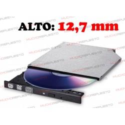 GRABADORA DVD+/-RW SATA LG GTC0N 12,7mm