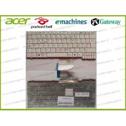 TECLADO ACER Aspire One A110/A150/D150/D250/KAV10/KAV60/ZG5/ZG8 Blanco