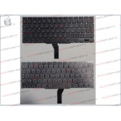 "TECLADO APPLE/MAC MACBOOK AIR A1370/A1465 11.6"" Negro (Sin Marco)"