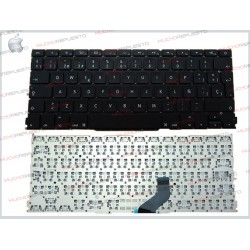 "TECLADO APPLE/MAC MACBOOK PRO A1425 13"" Negro (Sin Marco)"