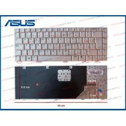 TECLADO ASUS W3/A8/N80/F8/Z99 Series Plata/Gris