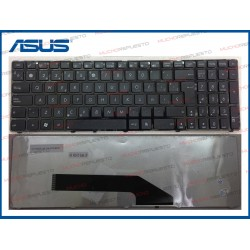TECLADO ASUS F52/F90/K50/K51/K60/K61/K62/K70/K72/P50/X5D/X5DIN/X51/X70 Negro