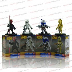 PACK 4 MUÑECOS / FIGURAS STAR WARS (4.5-7CM) PACK 2