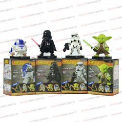 PACK 4 MUÑECOS / FIGURAS STAR WARS (4.5-7CM) PACK 1