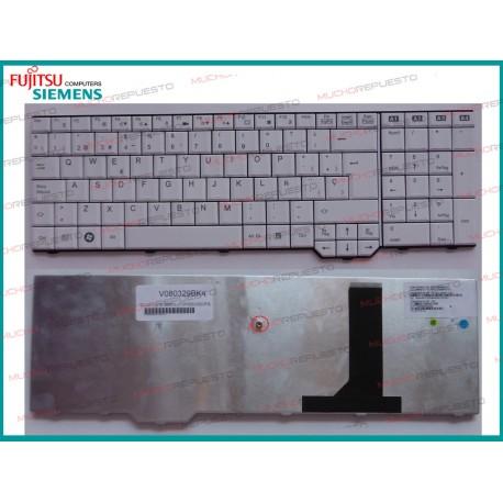 TECLADO FUJITSU SIEMENS Li3910/Pi3625/Xa3520/Xa3530/Xi3650/Xi3670 BLANCO