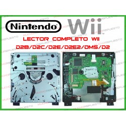 LECTOR WII COMPLETO DISCOS...