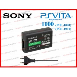 CARGADOR / ADAPTADOR SONY PSP VITA 1000 5V (COMPATIBLE)