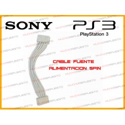 CABLE FUENTE DE ALIMENTACION 5PIN PS3 FAT (15CM)