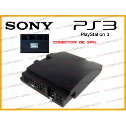FUENTE ALIMENTACION PS3 (3 pines) 40GB / 80GB REMANUFACTURADA