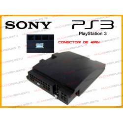 FUENTE ALIMENTACION PS3 (4 pines) 40GB / 80GB REMANUFACTURADA