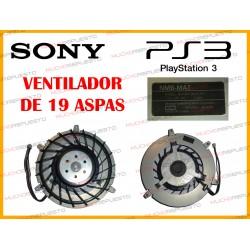 VENTILADOR INTERNO PS3 (MODELO DE 19 ASPAS)