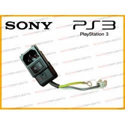 CONECTOR CORRIENTE PS3 FAT CON CABLES