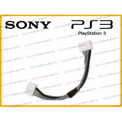 CABLE ALIMENTACION LECTOR PS3 A PLACA (9cm - 4PIN)