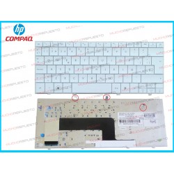 TECLADO HP Compaq Mini CQ10-100/110-1000 SERIES BLANCO