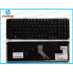 TECLADO HP DV6-1000 / DV6-1xxx / DV6-2000 / DV6-2xxx /DV6-T-1000 NEGRO