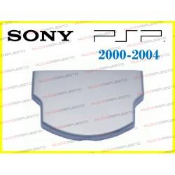 TAPA TRASERA / POSTERIOR PSP 2000 / 2004 PLATA