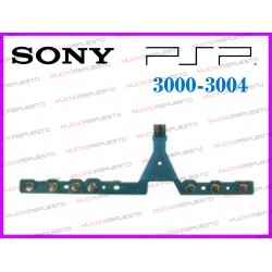 CABLE FLEX BOTONES DE CONTROL INFERIORES PSP 3000 / 3004