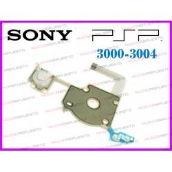 CABLE FLEX BOTONERA IZQUIERDA+ENCENDIDO PSP 3000 / 3004 (PLACAS TA-095)