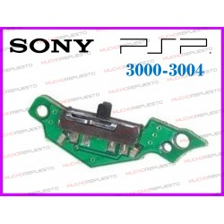 BOTON POWER ON/OFF SWITCH ENCENDIDO PSP 3000 / 3004
