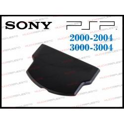 TAPA TRASERA / POSTERIOR PSP 2000-2004 / 3000-3004 NEGRA