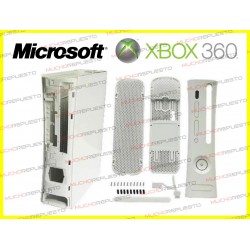 CARCASA COMPLETA XBOX360 COLOR BLANCO