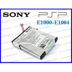 BATERIA CONSOLA SONY PSP E1000 / E1004 3.7V 925mAh