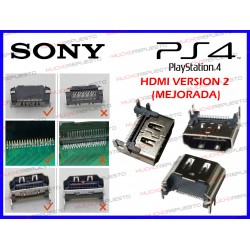CONECTOR HDMI PS4 (Version 2 Mejorada) (MODELO 1 - 4 enganches)
