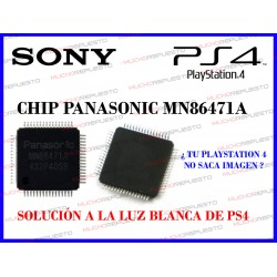 CHIP IC CONTROLADOR OUTPUT HDMI MN86471A PARA PS4