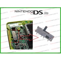 CONECTOR POWER SWITCH ON/OFF NINTENDO DSL (DSLite)