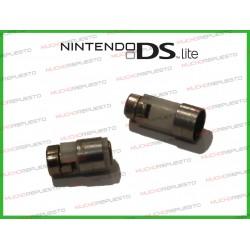 PACK 2 BISAGRAS PARA NINTENDO DSL (DSLite) (Modelo 2)