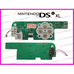 PLACA DE POWER+CRUCETA MOVIMIENTO NINTENDO DSI XL