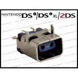 CONECTOR DE CARGA NINTENDO DSI - DSI XL - 2DS