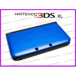 CARCASA NINTENDO 3DS XL COLOR AZUL