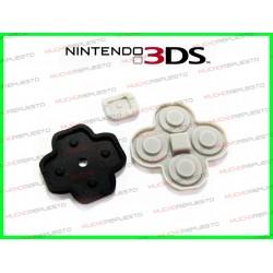 GOMAS DE REPUESTO BOTONES NINTENDO 3DS