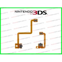 CABLE FLEX BOTONES L+R NINTENDO 3DS
