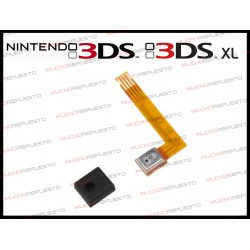 MICROFONO + CABLE FLEX PARA NINTENDO 3DS / 3DS XL