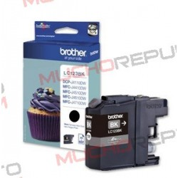 TINTA INK-JET COMPAT. BROTHER LC121XL/LC123XL BK